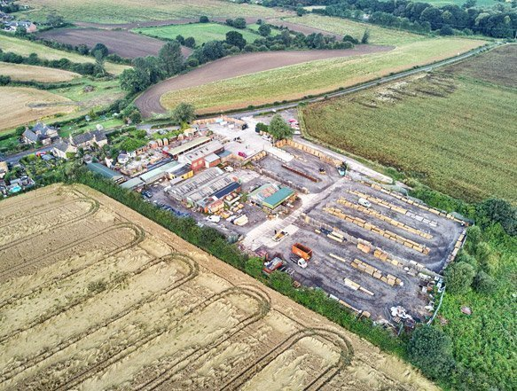 Earnshaws Wentworth Aerial Photo