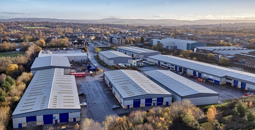 Empire Business Park Burnley Drone Photography