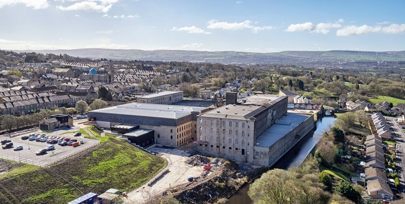 Northlight Mill Brierfield Drone