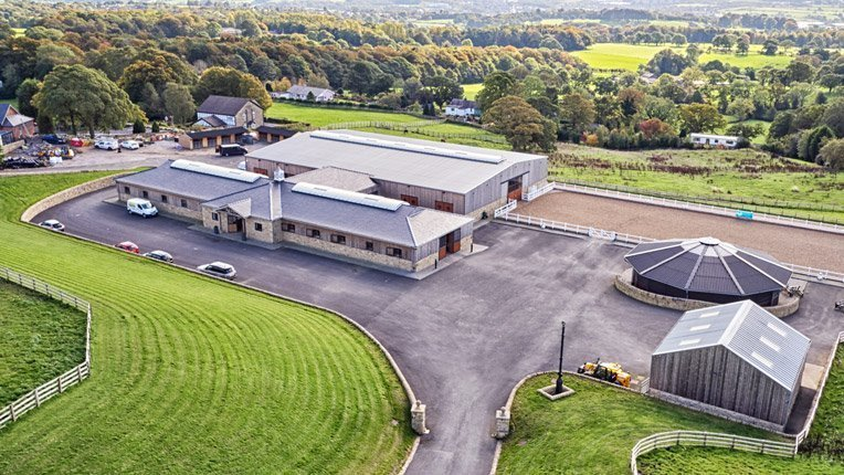 White Hill Stud Aerial Photography