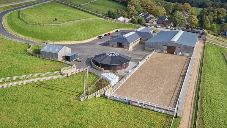 White Hill Stud Aerial