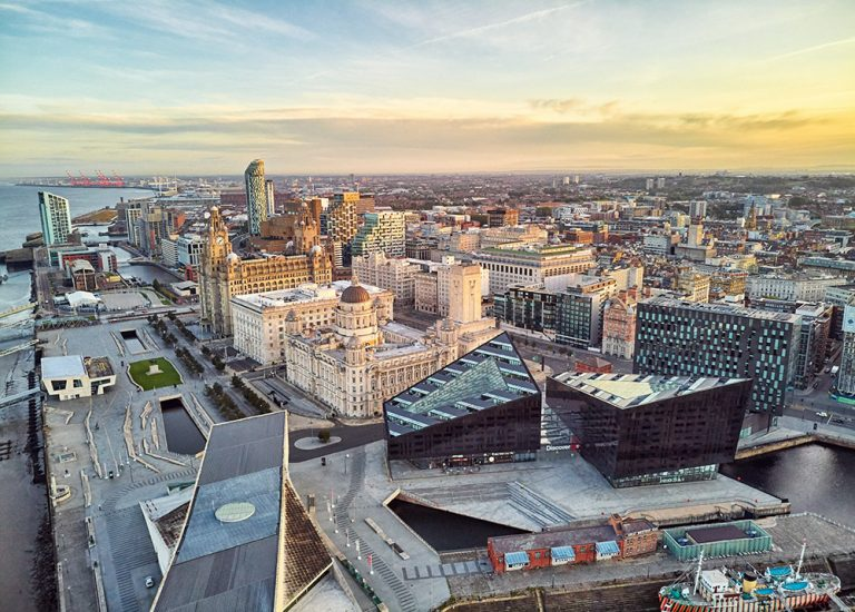 Liverpool Aerial Photography